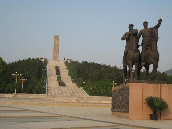 茅山红色旅游核心景区 茅山新四军纪念馆 组图